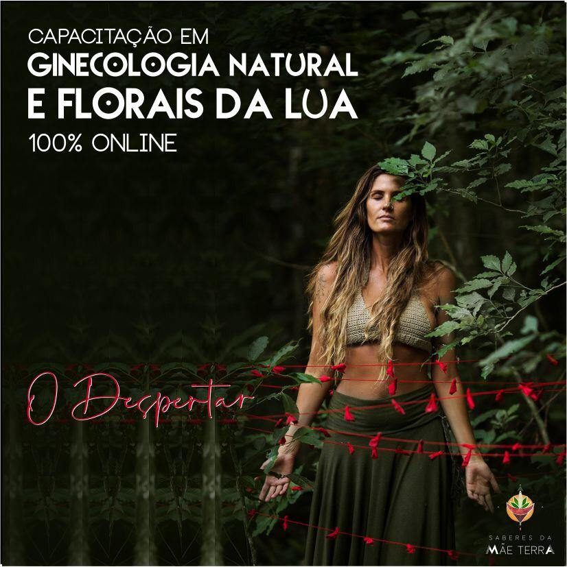 Capacitação em Ginecologia Natural e Florais da Lua